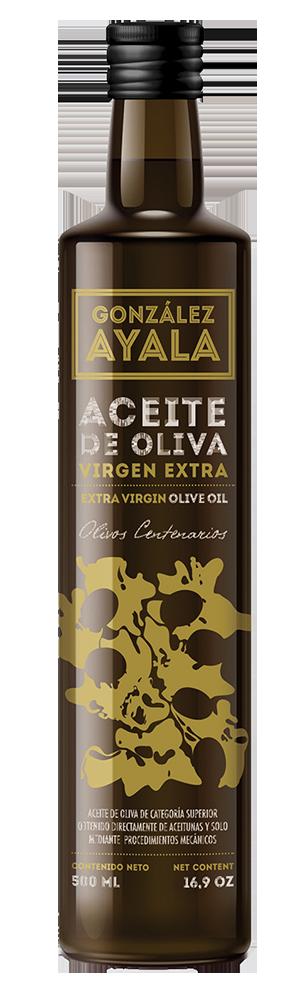 Botella de ACEITE de Gonzalez de Ayala