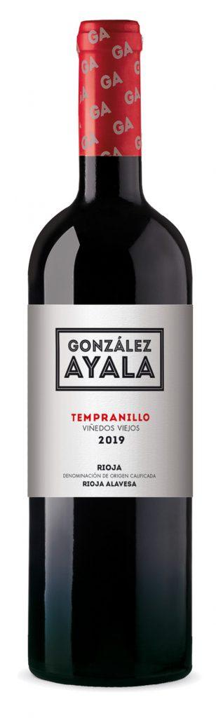 Botella de Tempranillo para tienda