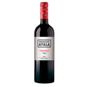 Botella de Vino Tinto en tienda